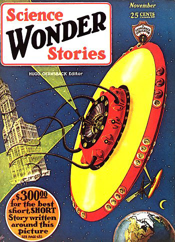 Science WONDER Stories, Nov. 1929