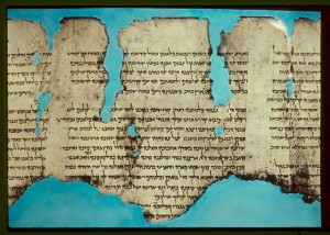"""The War Scroll - Dead Sea Scroll"" by Matson Photo Service - American Colony Jerusalem - Library of Congress. Licensed under CC0 via Wikimedia Commons."