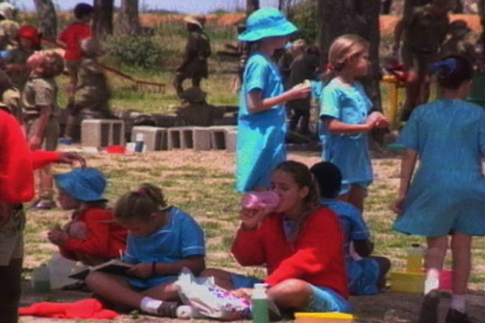 ariel-school-children-on-the-playground-in-1994